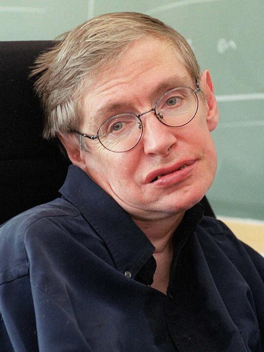 Сти́вен Уи́льям Хо́кинг великий физик-теоретик