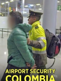 Служба безопасности аэропорта: Колумбия